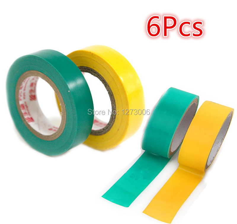 6Pcs Lot Electrical Tape Special Flame Retardant font b Insulation b font Self Adhesive Tape Auto online get cheap wiring harness insulation aliexpress com best tape auto wiring harness at crackthecode.co