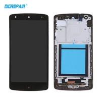 블랙 LG 구글 넥서스 5 D820 D821 LCD 디스플레이 터치 스크린 디지