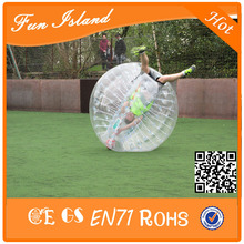Free shipping Inflatable Bubble Zorb Ball Suit,Soccer Bubble,100% TPU Bubble Football,1.5m Inflatable Human Hamster Ball