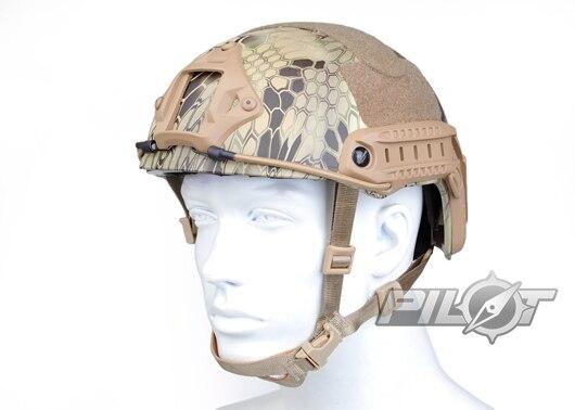 ФОТО 2015 NEW Kryptek Typhon Pilot FAST Helmet Airsoft MH adjustable ABS helmet (PH0601-Highlander)