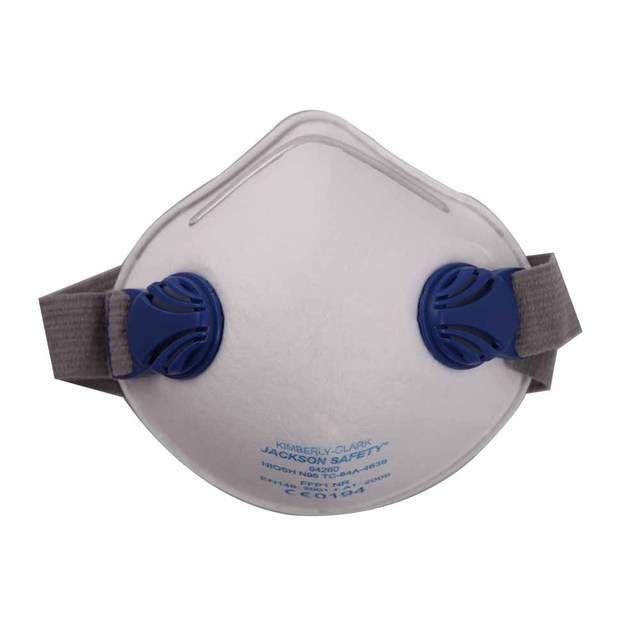 Kimberly r10 particles comfortable type n95 respirator with double valve 10 pm2.5