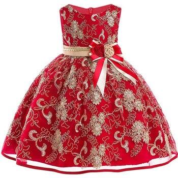 cc643e3f1a8 Платье с цветочным узором для девочек