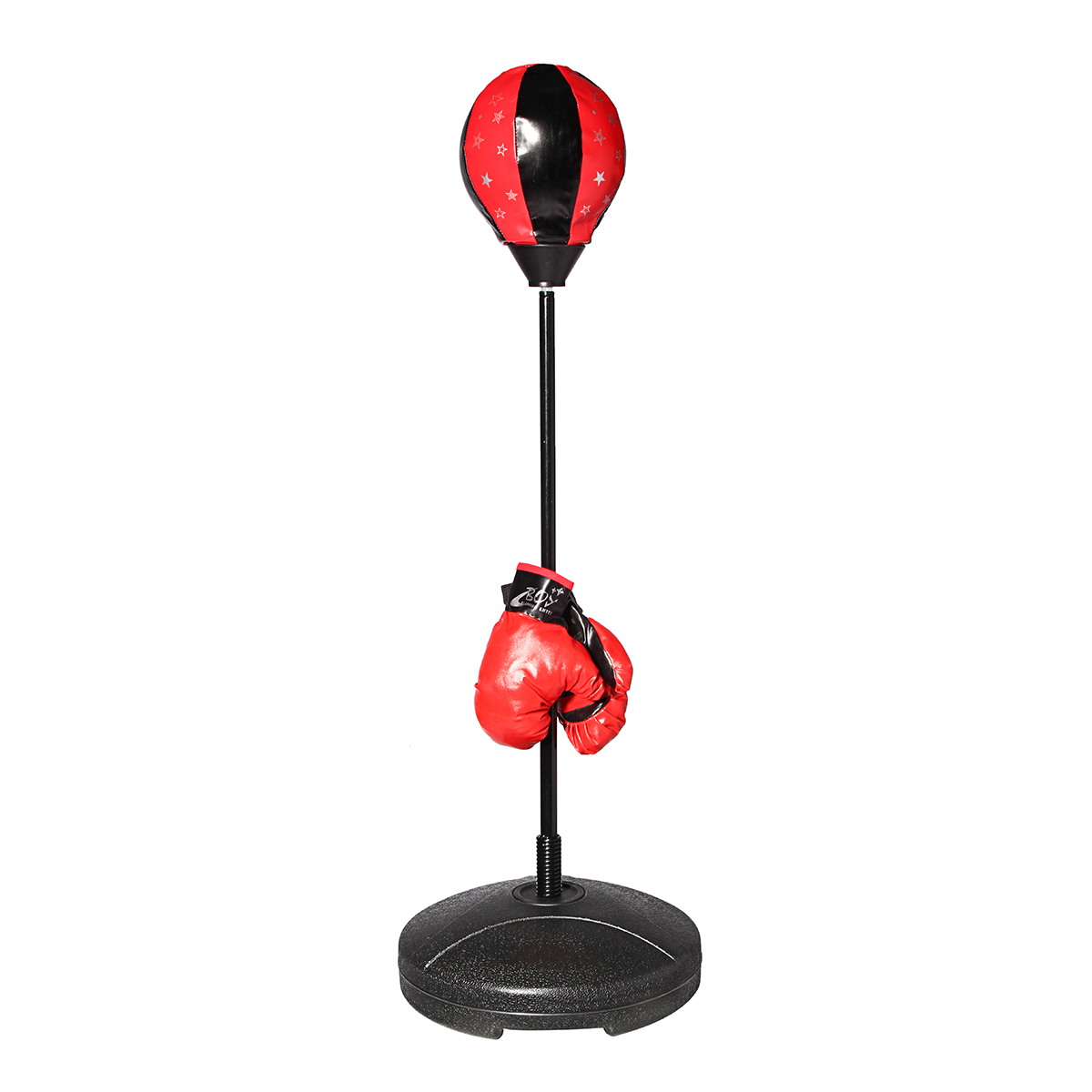 S Size Adjustable Standing Punching Bag Boxing Gloves Ball Adults Children Punching Sport Sand Bag Boxing Fitness Supplies