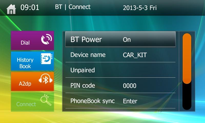UI Bluetooth