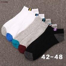 20PCS 10 pairs Men s boat socks cotton deodorant sweat business sports socks plus size XXXL
