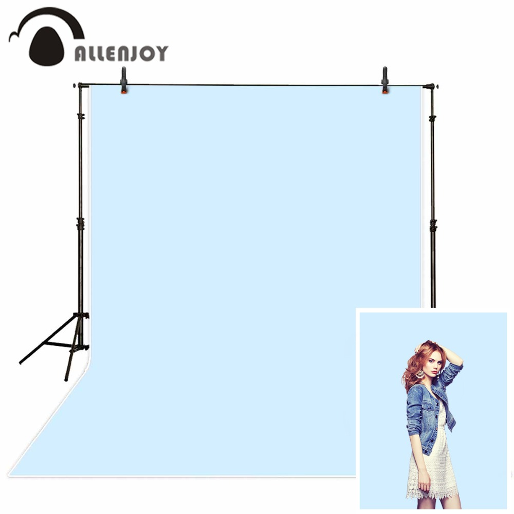 Allenjoy backgrounds for photo studio Solid Baby Blue Pure Color Photography Studio Backdrops photobooth newborn props photocall image