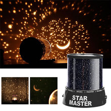 LED Night Light Starry Sky Magic Star Moon Planet Space Projector Lamp Universe Decorative For Lover Friend Kids Gift