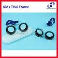 Crianças Confortável Optical Julgamento Quadro Fixo PD 48 56 Para Crianças Quadro Lente Julgamento Optometria Teste de Visão De Peso Leve