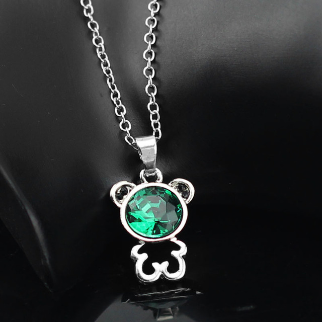 Cute Austria Crystal Bear Pendant
