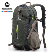 Top quality Maleroads Hiking Backpack Travel Daypack Outdoor Sport Backpack Camping Pack Trekking Rucksack for Men Women 40L