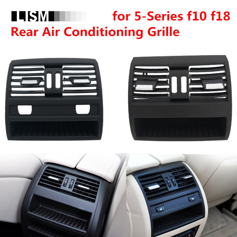 Rear Middle Air Conditioning Grille for BMW 5 Series f10 f18 523 525 535 Back Wind Outlet Port Vent Net Adjustment Toggle Pad цена в Москве и Питере