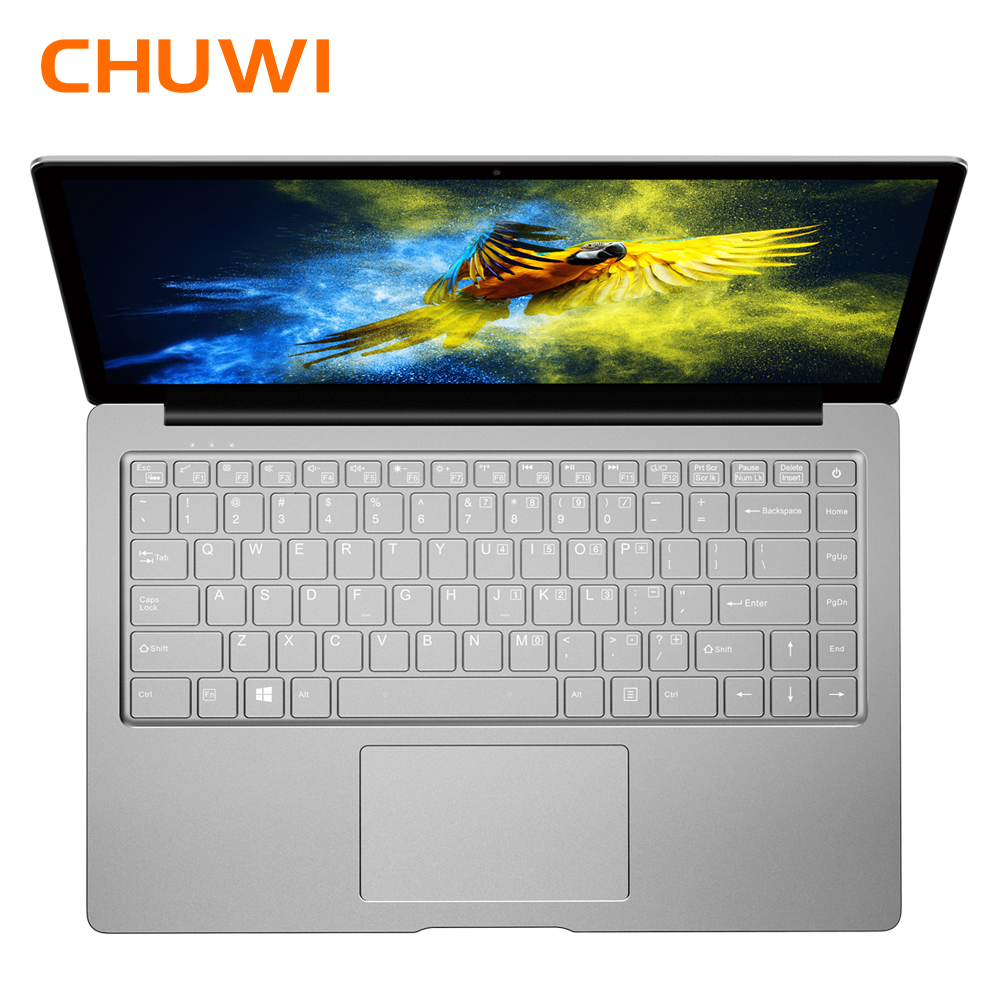 CHUWI LapBook Air 14.1 pouce Ordinateur Portable Windows 10 Intel Apollo Lac N3450 Quad Core 8 gb RAM 128 gb ROM portable avec Rétro-Éclairé Clavier