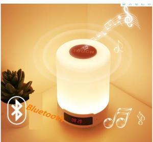 Image 4 - Kuliai 夜の光と bluetooth スピーカー、ポータブルワイヤレス bluetooth スピーカー IPTV タッチコントロールカラー led ナイトライト