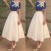 abiye Formal Dress vestido longo abendkleider 2 Pieces Evening Gowns With Appliques robe de soiree Party Dresses Long