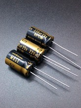 30PCS Nichicon KZ 220uF/25V genuine spot 220uf 25v audio import for capacitor free shipping