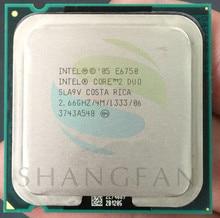 Intel Core 2 Duo E6750 SLA9V 4MB 2.66GHz 775 Pin Quad-Core 65W CPU procssor