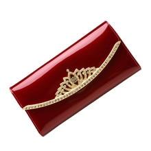 Fashion Women Wallet Credit Card Holder Long Purse Clutch Female Wallets Genuine Leather Coin Zipper Handbag