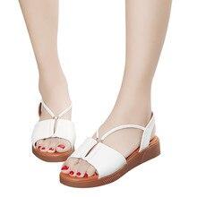 Sandalias clásicas para Mujer, bonitos zapatos de verano, Sandalias de Gladiador, Sandalias planas de moda para Mujer, chanclas cómodas, zapatos de Mujer