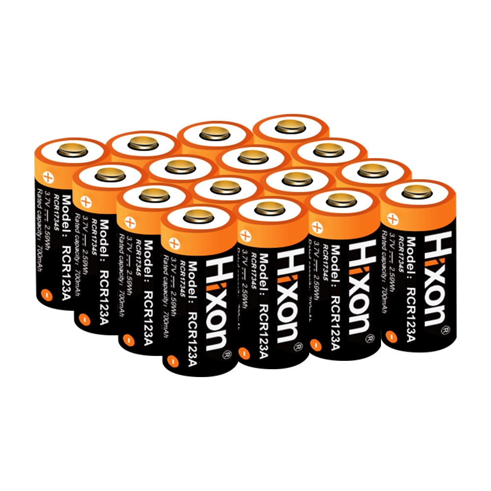 16 pz UL FCC Certificato 700 mah 3.7 v RCR123A CR123A batterie ricaricabili per Netgear Arlo HD Telecamere e Reolink 16340 batteria