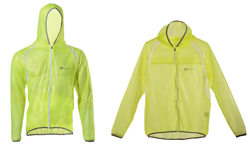 ROCKBROS Waterproof Cycling Jersey breathable Jacket Jersey Windproof Coat Clothing MTB Reflective Bike Road Raincoat RK0019 (11)