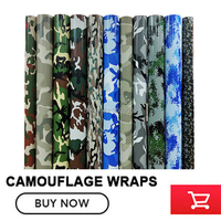 Camouflage Vinyl Wrap Film Auto Sticker Vinyls Film Camo vinyl Car Wrap for Car Wrapping matte glossy Various kinds any size