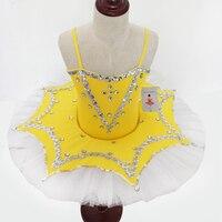 2017 New Ballet Ballerina SWAN LAKE Christmas Tutu Dance Costume Child Large Professional Ballet Tutus