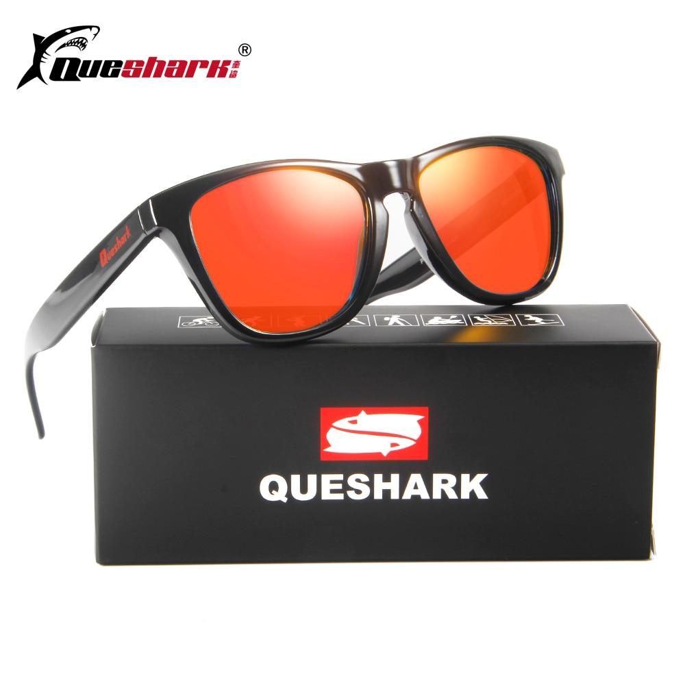 QUESHARK Polarized Camping Sunglasses Uv Protection Travel Fishing ...