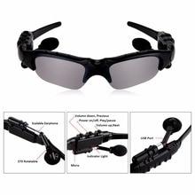 Outdoor Polarized Sunglasses 2 in 1 Wireless Bluetooth Headp
