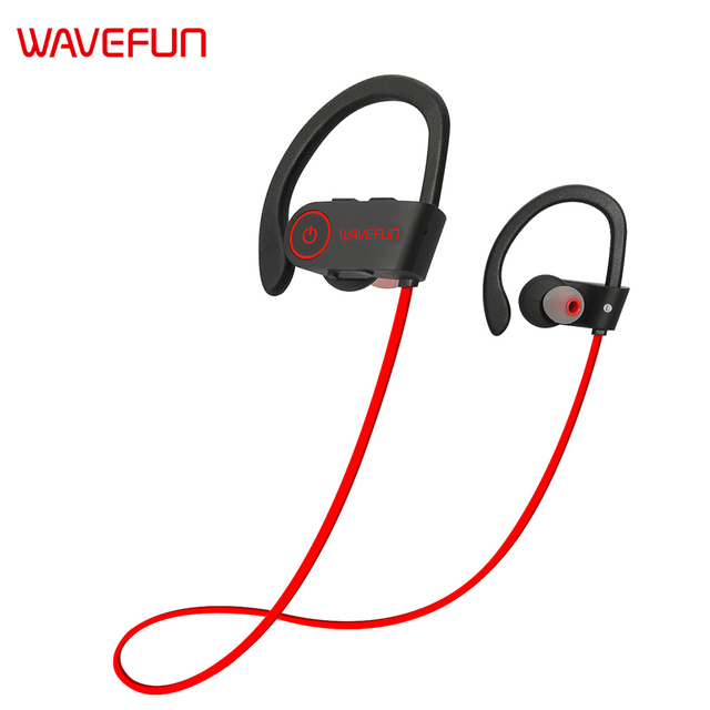Wavefun X-Buds bluetooth earphone wireless earbuds IPX7 waterproof headphones sports super bass with mic for Xiaomi iPhone Phone