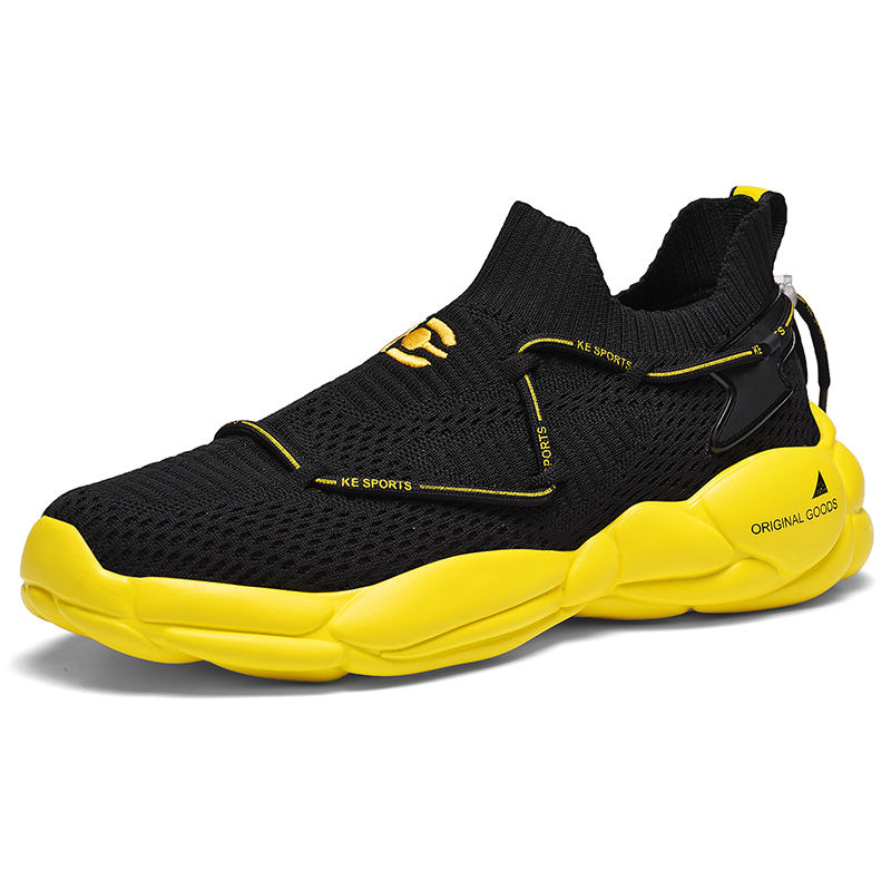 Men Doeky Dad Shoes Quality Rubber Mesh Upper Breathable Casual Dad Shoes Lace Up Fashion Outdoor Men Sneakers Male Shoes Adult in Running Shoes from Sports Entertainment