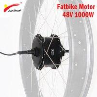 48V 1000W Brushless Hub Motor for 4.0 Fatbike Electric Bike Motor Wheel High Speed Rear Drive Ebike E bike 48V 1000W Motor