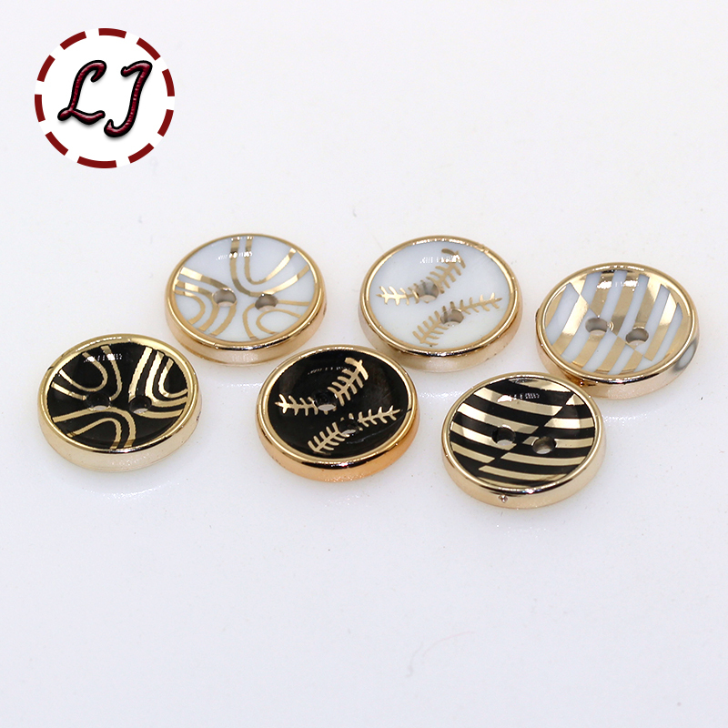 Fashion button 100PCS/LOT 2-Holes round Button 12mm button plastic cloth buttons sewing accessory scrapbooking