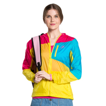 Tectop Woman SUMMER Skin coat camping hiking jackets sun protective Ultralight breathable windbreaker outdoor quick-Dry UV