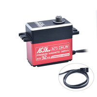 Model Parts AGF A73CHLW Digital Full Metal Gear 32KG High Torque Servo for 1/10 1/8 RC Module L0614
