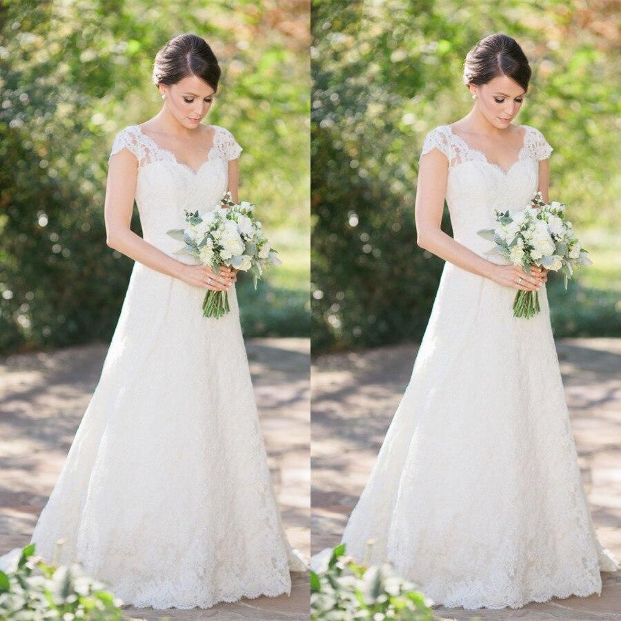 Country Style Lace Wedding Dresses 2019 Vestido De Noiva A