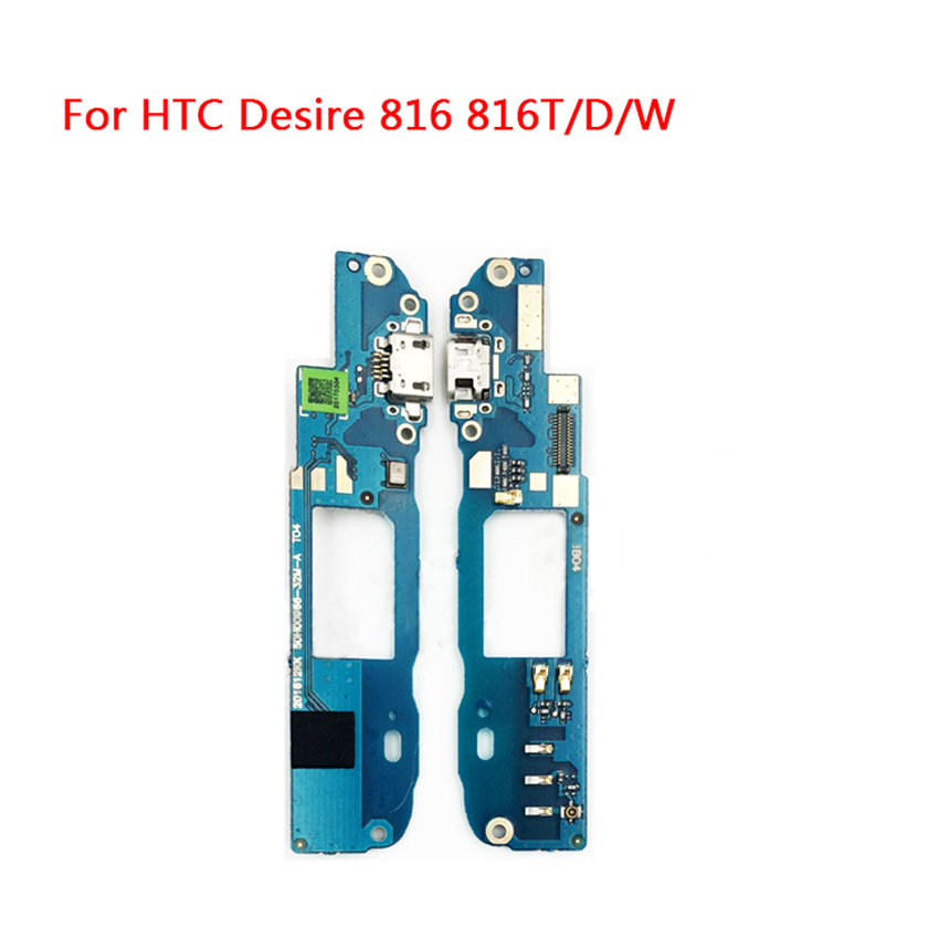 100% New USB Charging Charger Dock Port Flex Cable With Mic For HTC Desire 816 800 D816W 816W Connector Plug Board Flex