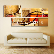 Modern abstract  Oil Painting On Canvas huge wall art block Free shipping