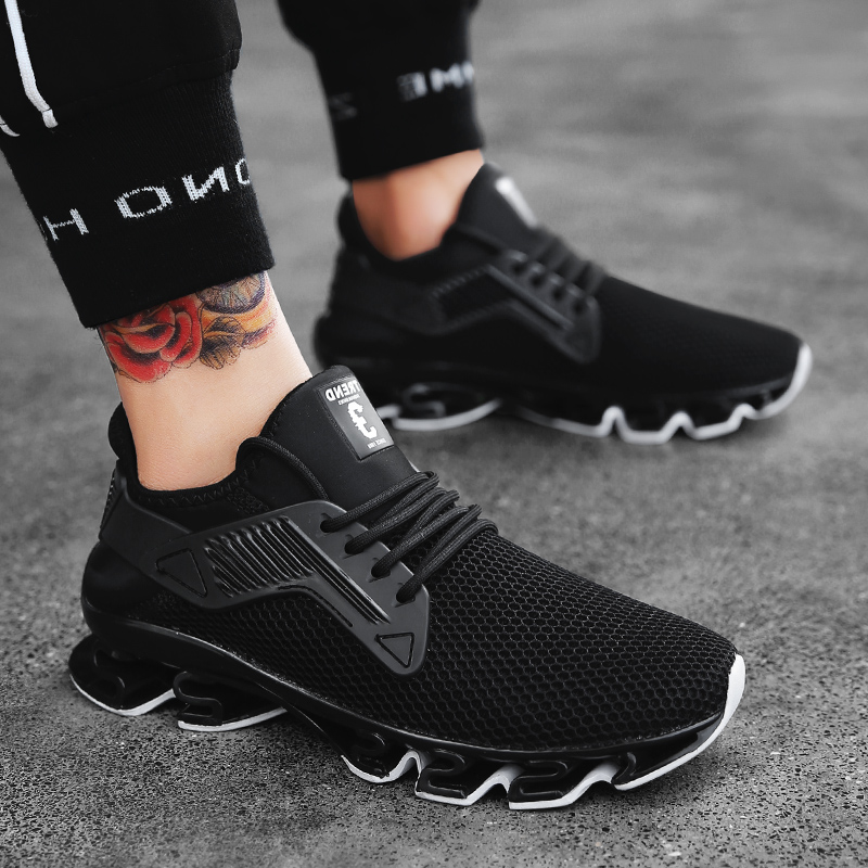 Ingenious Summer Mens Shoes Fashion Male Shoes Leisure Skid-proof Breathable Good Shoes Popular Mesh Men Casual Shoes Men's Shoes Shoes