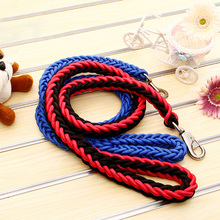 Woven eight-strand traction rope large dog with string pet manufacturers direct sales