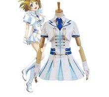 LoveLive! amor vivo hanayo koizumi maravilloso fiebre uniforme dress shirt chaleco tie anime de cosplay de halloween para las mujeres