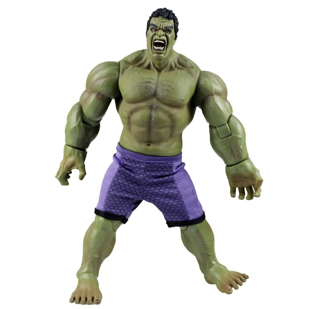 все цены на  Marvel Avengers Super Hero Hulk Action Figure Toy Doll Collection DC003040 Free Shipping  онлайн