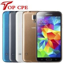 Samsung – smartphone Galaxy S5 G900A G900F G900V Quad core, téléphone portable reconditionné et Original déverrouillé, écran 5.1 pouces, caméra 16mp, GPS, WIFI