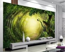 Beibehang Custom Photo Wallpaper fantasy woods trail Wall Mural Wallpaper For Living Room Bedroom Background wall 3D wallpaper custom photo wall mural 3d stereoscopic wallpaper for living room ktv bar space capsule background decor wallpaper 3d wall mural