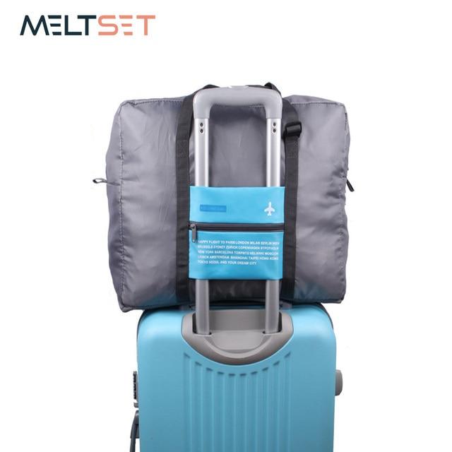 44b23e3219 Folding Travel Storage Bag Organizer Large Capacity Travel Luggage Bag  Waterproof Packing Bag Big Size Duffle Bag Portable Pouch