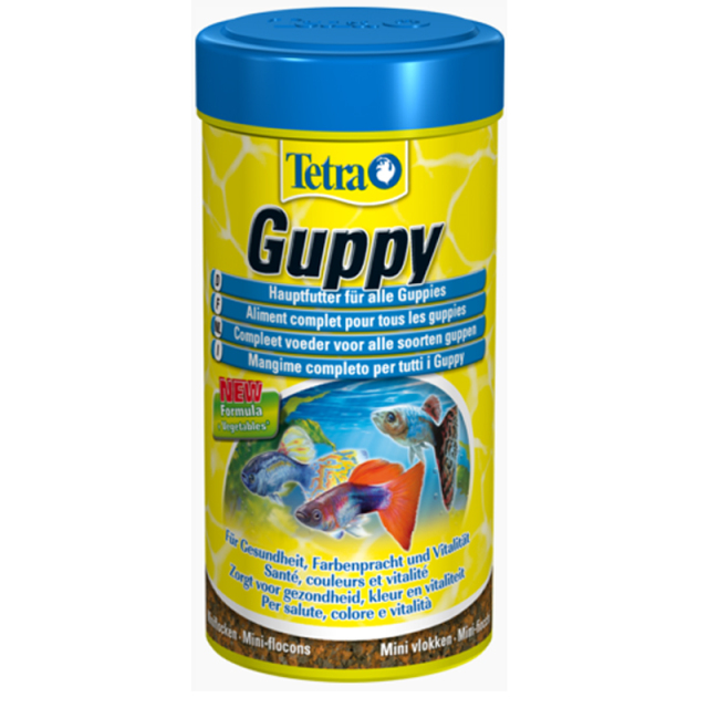 Tetra Guppy Fish Food - Top Quality Made in Germany 1