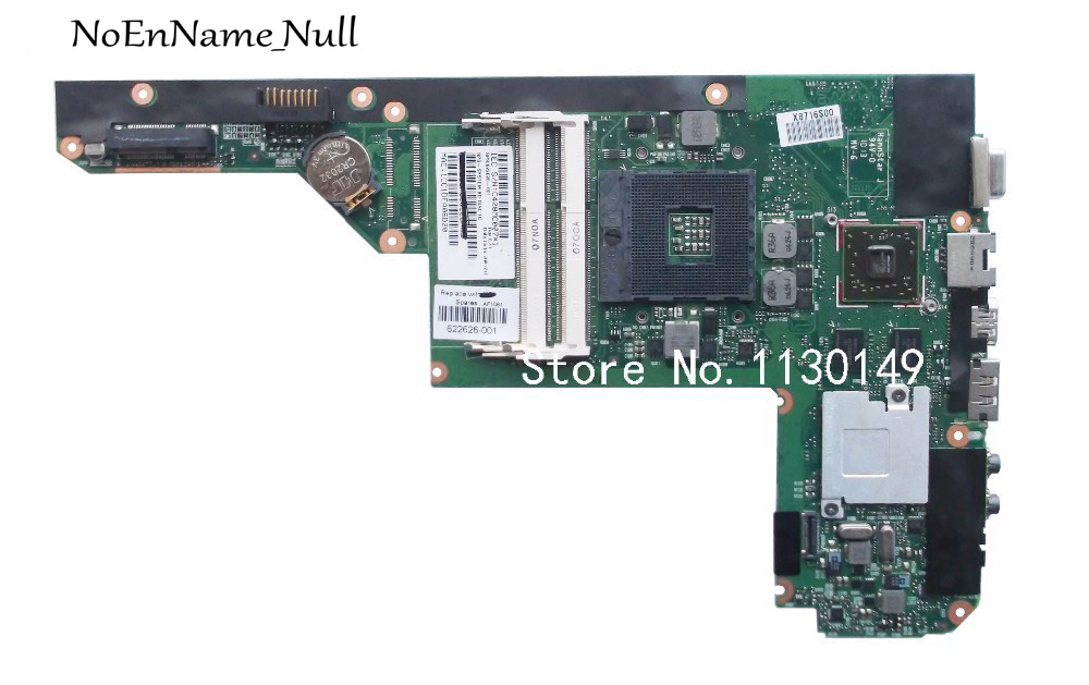 Free Shipping for HP DV3 DV3 4000 622626 001 laptop motherboard HM55 100% full tested OK