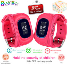 New BANGWEI Hot GPS Kid smart Watch Baby Watch Children SOS Call Location Finder Locator Tracker Anti Lost Monitor Smartwatch(China)