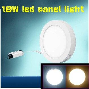 Лидер продаж! 18 Вт светодиодные панели AC85-265V белый/теплый белый кухня высокой яркости освещения ...