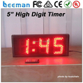 Leeman 3 digits Led manufactures in china outdoor waterproof wall clock large numbers 6 inch 3 digit digital led queue number