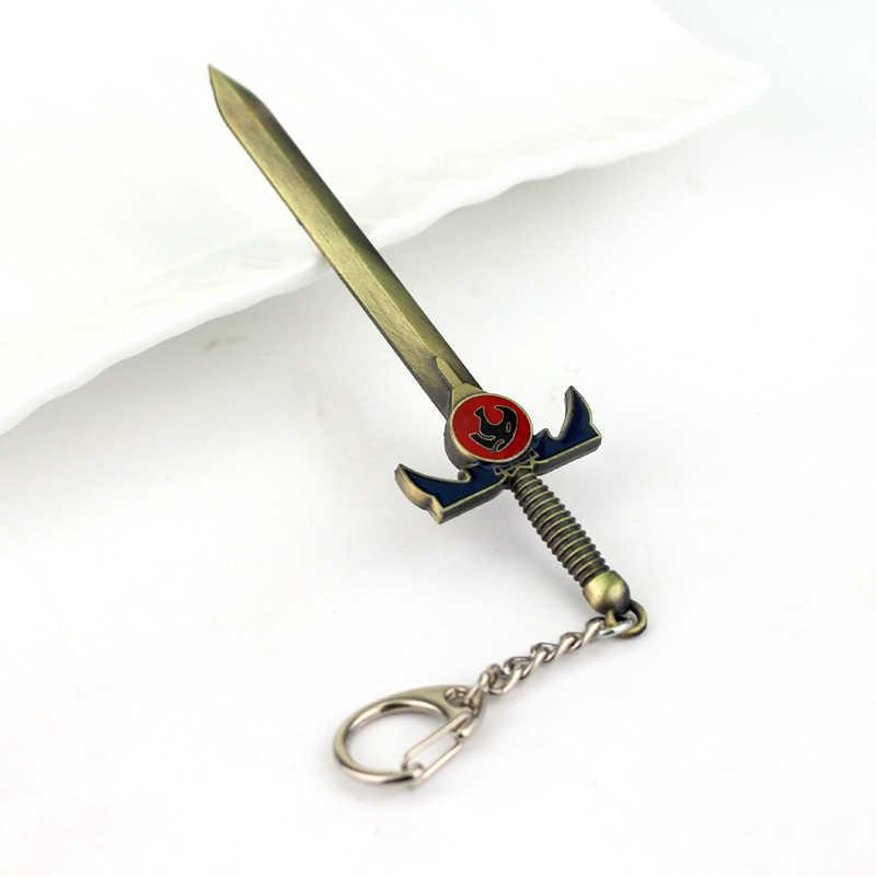2 色新ホット Thundercats の剣キーホルダー 12 センチメートル長さデラックス剣 Omens のためのファンのお土産